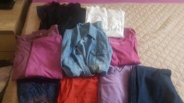Paket zenske garderobe - Srbija: Pun paket mesovite zenske garderobe u velicini M