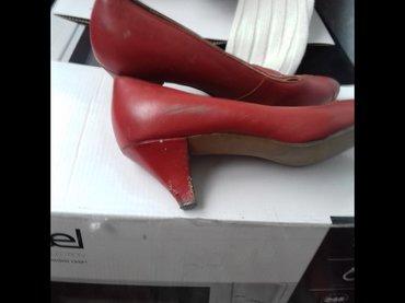 Туфли женские б/у размер 37.5 кожа 1989 года в Бишкек