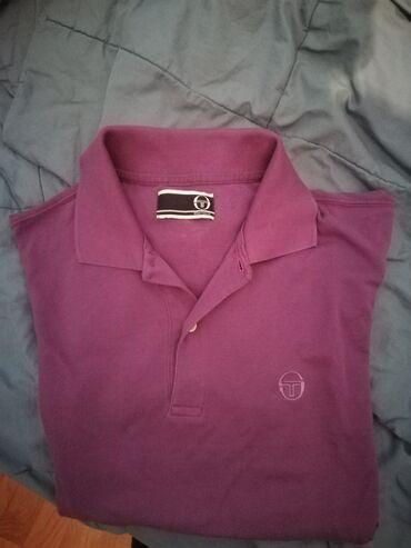Sergio tacchini - Srbija: Prodajem original Sergio Tacchini majicu na kragnu.Velicina majice je