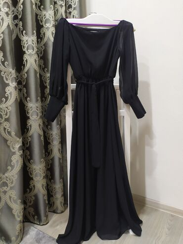 Платье шифон, Турция, размер 44-46. Один выход. фото видео могу
