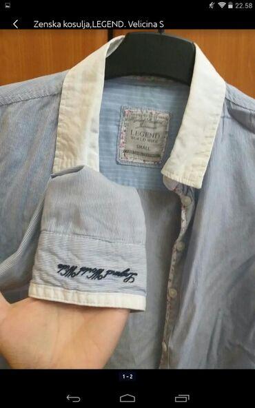Personalni proizvodi | Obrenovac: Ženska košulja LEGEND veličina S