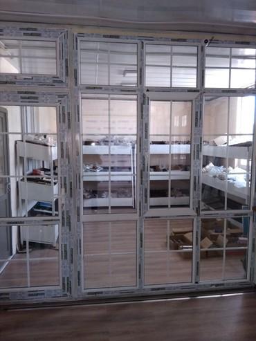 ustanovka windows s vyezdom na domu в Кыргызстан: Пластиковые окна, двери, витражи, перегородки,от35$и выше,цветные от