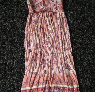 Mango dress Size L NEW strapless