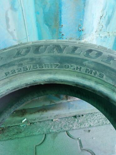 Продаю шины летние разнопарки размер 225/55/17 4 штуки без шишек и