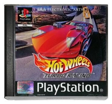 Turbo hot wheels for PlayStation1 and PlayStation2 (chip) / the best
