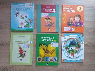 Knjige, časopisi, CD i DVD | Obrenovac: Eduka knjige za 4. razred osnovne školeKnjige su veoma očuvane, bez