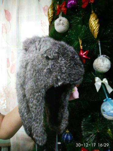 детские вязаные шапки ручной работы в Кыргызстан: Продаю детские шапки натуральный мех (кролик). 500сом