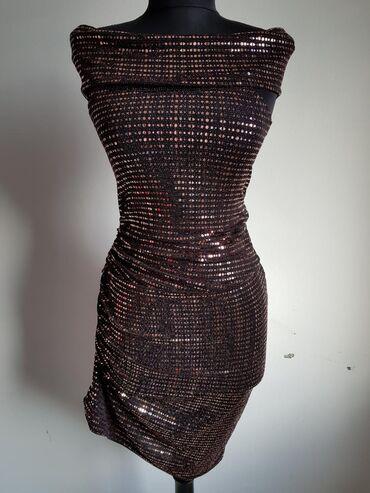 C&A haljina S velicina NOVO Tegljiv materijal, traka preko ramena
