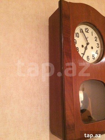 Bakı şəhərində Antik очз saati satılır. Yaxşı vəziyyətdədir. Real alıcılar buyursun.
