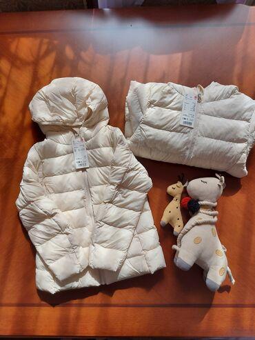 куртки юникло в Кыргызстан: Куртки юникло на ростовку 120-130 см. Шикарное качество
