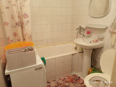 Долгосрочная аренда квартир - С мебелью - Бишкек: Сдаю 1- комнатную квартиру 8- мкр со всеми удобствами, ближе к