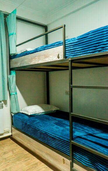 долгосрочно в Кыргызстан: Новый хостел все комм.Услуги включены,все новое, прачечная кафе тв инт