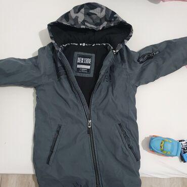 Kvalitetna muska decija jaknica,velicina 7-8