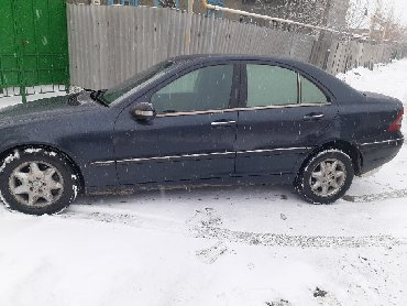 Mercedes-Benz в Кыргызстан: Mercedes-Benz C 200 2 л. 2000 | 230000 км