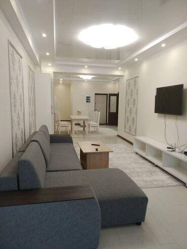 суточный 1 комнатная квартира в караколе in Кыргызстан | ПОСУТОЧНАЯ АРЕНДА КВАРТИР: 2 комнаты, Душевая кабина, Постельное белье, Кондиционер, Без животных