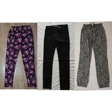 Paket odece za devojčice uzrast 13-14 h.Farke C&A, pantalone