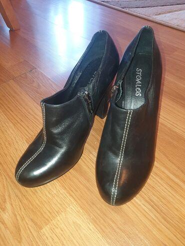 Продаю кожаные чёрные ботильоны.сидят на ноге потрясающе выгуливались