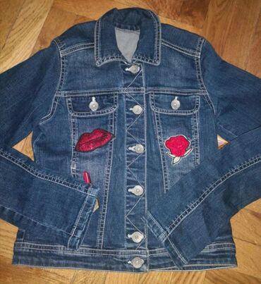 Teksas jaknica za devojcice nova velicina 8-10