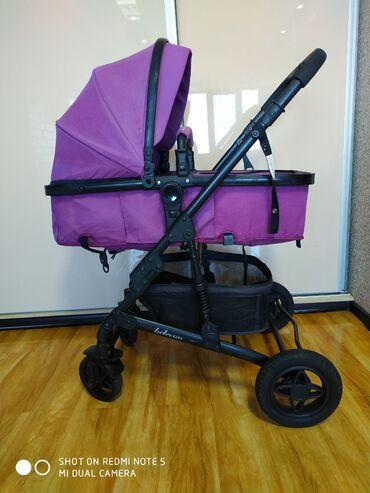 удобные коляски для новорожденных в Кыргызстан: Коляска трансформер фирмы belecoo. Состояние хорошее. Удобная