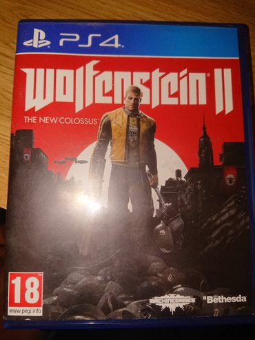 Wulfenstein 2 The new colossus На английском в Бишкек