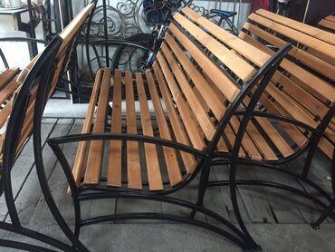Скамейка садовая новая, цена от производителя, оптовые скидки
