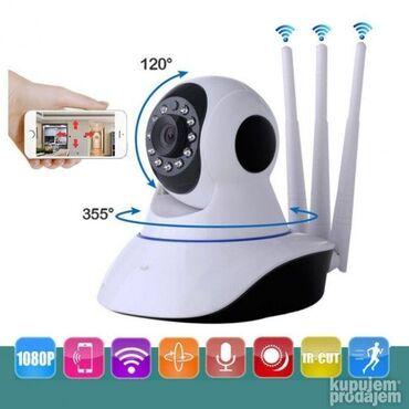 6023 oglasa | ELEKTRONIKA: WiFi IP Mini Bežični VIDEO Nadzor - Kamera ONVIF P2P HD   Cena 3390 Po