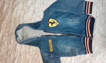 Весенняя джинсовая куртка в отличном в Бишкек