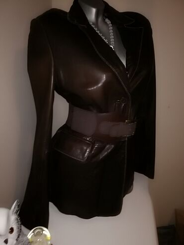 Vrhunska koža HM Kupljena preko Koža mekana ko rukavica 38,m veličina
