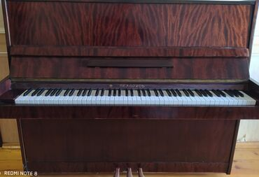 belarusiya qapilari - Azərbaycan: Piano (Belarus, qoz agaci,3 pedal)