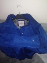 Muška jakna vel.XL,kupljena u TimeOut,kraljevsko plava,malo nošena