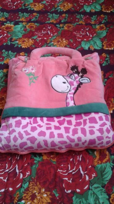 шерстяное одеяло меринос в Кыргызстан: 500сом детский сумка одеял