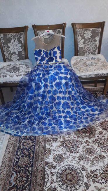 джинсовое платье на пуговицах в Кыргызстан: Продаю Вечернее платье