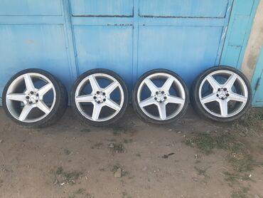 диски amg r19 в Кыргызстан: Диски на мерседес AMG ( Mercedes ). Апполоны. R19 разноширокие