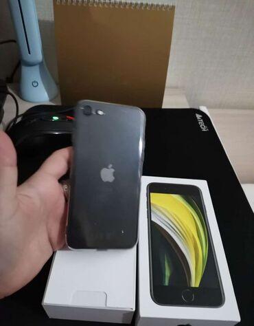 iphone чехол защита в Азербайджан: IPhone SE 2020 128 ГБ Черный