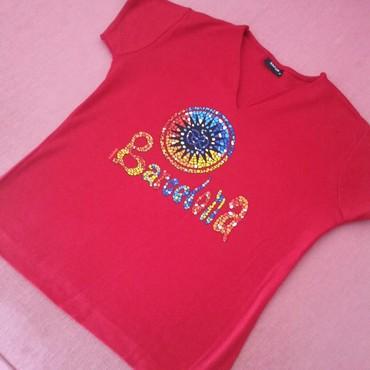 Dres barselone - Srbija: Crvena majica - suvenir iz Barselone