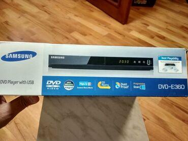 """dvd плеер samsung в Азербайджан: """"Samsung"""" DVD playerTəzədir, heç istifadə olunmayıb, salofandan"""