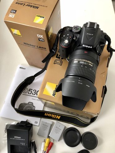 Nikon D5300 Digital Slr Camera With 18 - 55mm в Московский