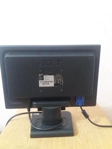 lcd монитор acer al1717 в Кыргызстан: Монитор  acer Al 1516 W  б/у  17-дюймов  С кабелями  На экране с левой