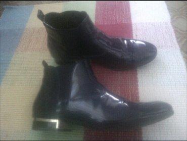 Ženska obuća | Rumenka: Zenske teget lakovane cipele br 40.Cena 1000 din
