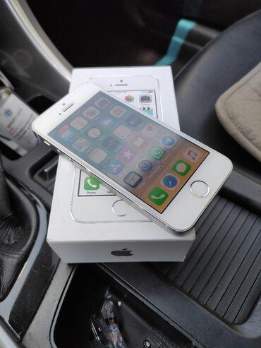 apple-iphone в Кыргызстан: Продаю Iphone 5s 16GB. Аппарат реально живой, все кнопки и функции