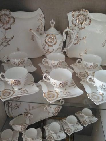Bakı şəhərində 6 nəfərlik Çay, Kofe ve Nahar Servis desti. Əlavə olaraq 3 Bulud