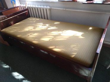 Односпальная кровать из цельного в Бишкек