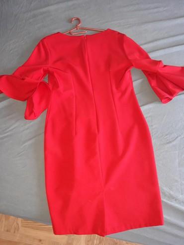 Lutke za butik - Srbija: Crvena haljina broj 42 ali odgovara br 40, butik Selection