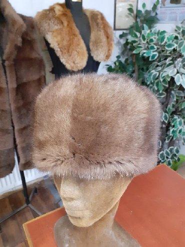 Krzneni kaputi - Sremska Mitrovica: Subara od nerca. Obim 58 59cm. Prirodno krzno
