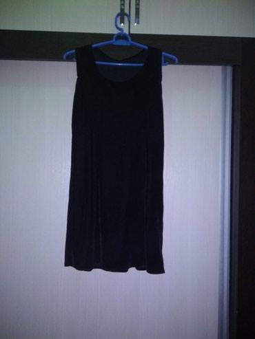 Бархатное платье тройка. один раз носили новое 44-46-48 р в Бишкек