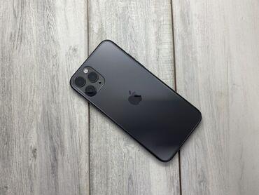 продам iphone 11 pro в Кыргызстан: Б/У IPhone 11 Pro 256 ГБ Черный