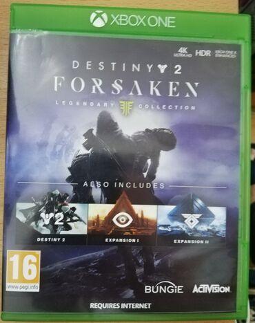 Destiny 2 Forsaken, XBOX ONE, u odličnom stanju. Preuzimanje lično ili
