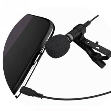 аккумуляторы для ибп panasonic в Кыргызстан: Петличный микрофон woopower для телефона (4 pin) петличка микрофон пет