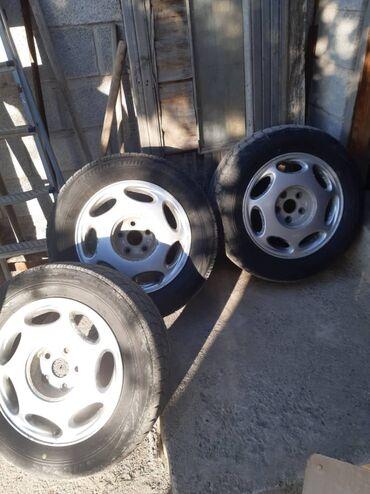 16 диски с шинами комплект 5/114.3 Тойота Ниссан Хонда