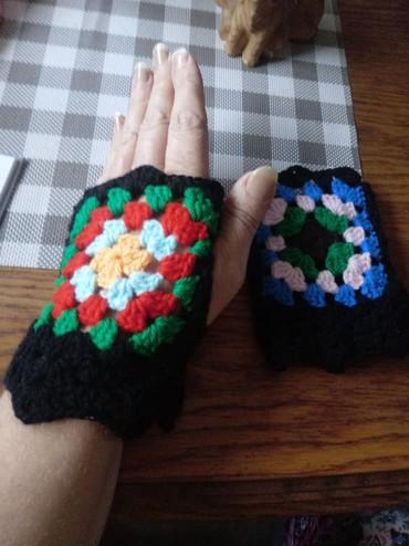Heklane rukavice bez prstiju - Vrnjacka Banja